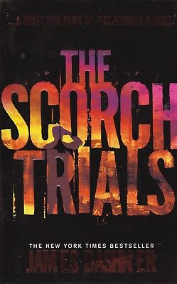 The Scorch Trials by James Dashner (Paperback) NEW BOOK
