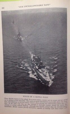 Scouts Of A Battle Fleet,  WW2 Vintage Print C1943, Army, Air Force, Navy