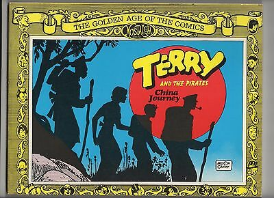 Terry And The Pirates China Journey TPB (Nostalgia Press 1977) 1st Hi Res scans