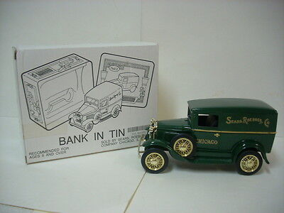 1929 Ford Model A Panel Sears In A Tin Box Collector's Series Bank Made In 1991