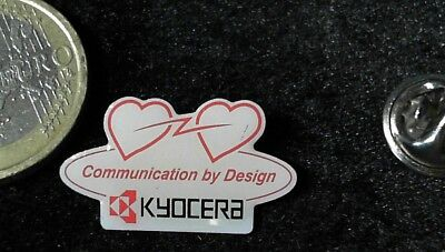 Kyocera ´´ Communication by Design ´´ Pin Badge