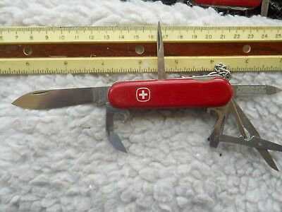 Wenger Traveler Swiss Army knife in red - UBS/SUG logo