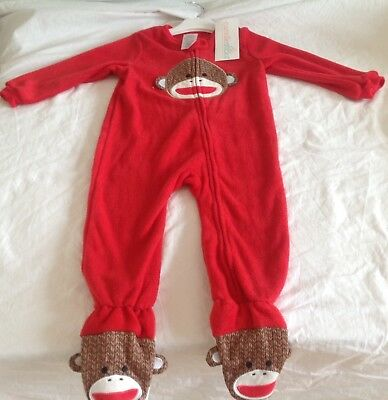 CANDLESTICK FLEECE ONE-PIECE SLEEPSUIT 12 Months - 4 Years BNWT FREE POSTAGE