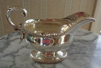 Vintage Silver-plated Sauce Boat - EPNS