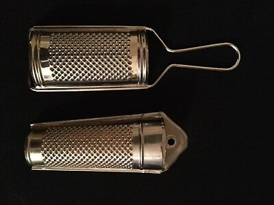 Lot of 2 Nutmeg Graters