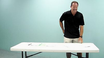Lift Your Table® Risers STRAIGHT LEG KIT Raise Your Table Height ~ No Back Pain!