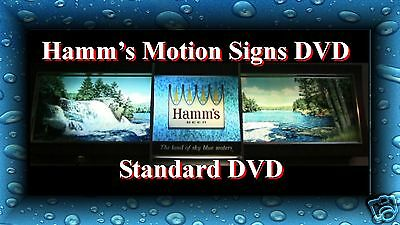 "Hamms Motion Beer Signs DVD Rippler Scene-O-Rama Neon Flying Goblet ""Ebay Only!"""
