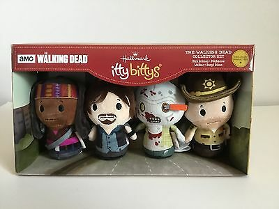 NWT Hallmark Itty Bitty THE WALKING DEAD Collectors Set~~~Free Shipping~