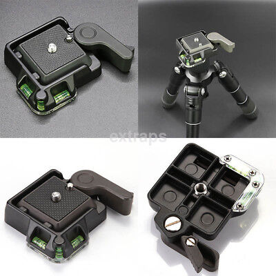 Credible Quick Release QR Plate Mount Holder For Tripod Monopod Ball Head US