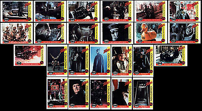 1992 Vintage Batman Returns Factory Mint Card Set Of 24 - Zellers Collection