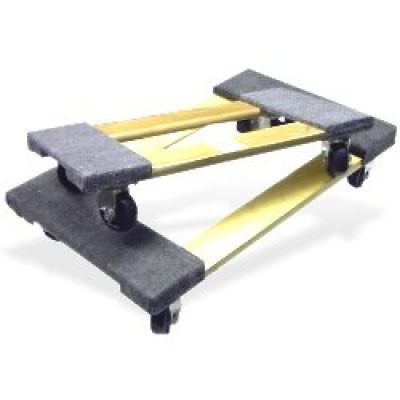 Neiko 53031 Hardwood Furniture Moving Dolly with Carpet Ends | 660 Lbs Load Capa