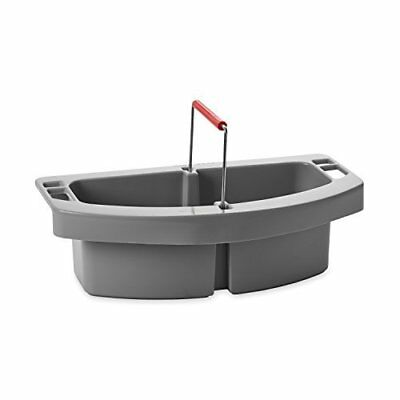 Rubbermaid Commercial Maid Cleaning Caddy, Gray, FG264900GRAY