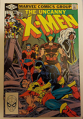 UNCANNY X-MEN #155 - (Marvel Comics) 1st appearance of THE BROOD March 1982