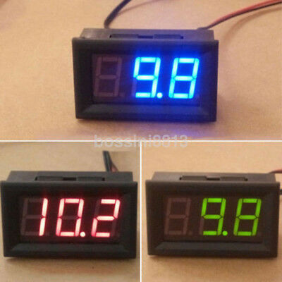 -50 ~ 110℃ Digital LED Thermometer DC 12V Car Temperature Monitor Panel Meter