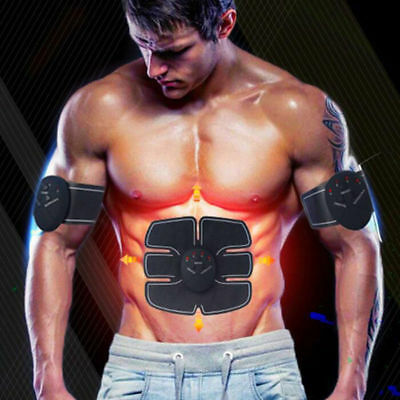 Smart sports ABS EMS-Bauchmuskel 6 pack Muskeltrainer Fitness Fernbedienung Set