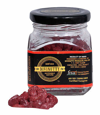 Divinutty Gluten Free Flavoured Rose Infused Raisins Zero Cholesterol - 5.2 Oz