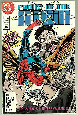 1988 DC-Power of the Atom #1-Home is the Hero-Script-Roger Stern-VF+