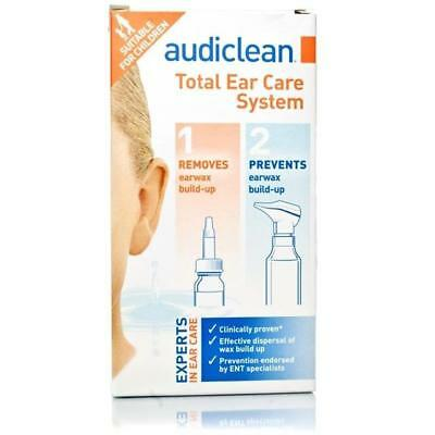 Audiclean Kit de Soin Auriculaire Total Duo