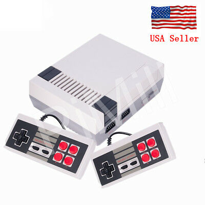 Mini Vintage Retro TV Game Console Classic 500 Built-in Games 2 Controllers US
