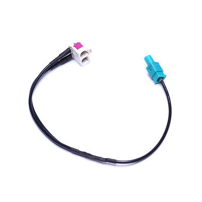 1 to 2 Radio Antenna Aerial Adapter Cable for VW Skoda MFD3 RNS RCD510 310 315