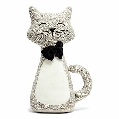 Proud Cat Doorstopper - Grey NEW Home Decor