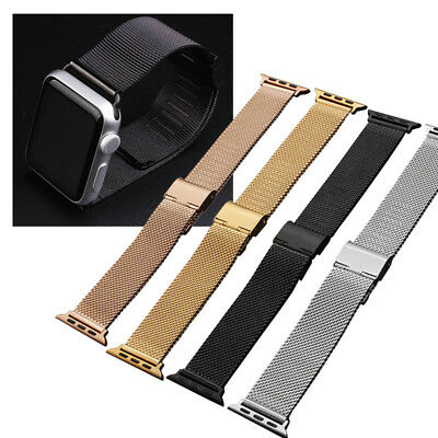 For 38mm 42mm Apple Watch iWatch Series 2 3 Stainless Steel Strap Band Connector
