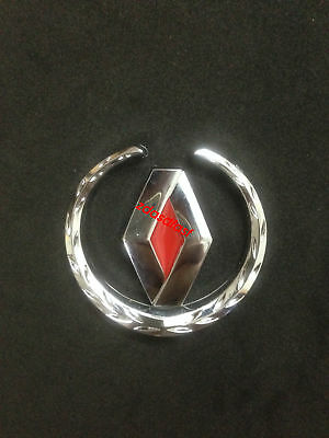 1 pcs Renault 3D Metal logo car emblem Fender Side badge Sticker for Koleos
