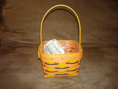 Longaberger 2014 Scaredy-Treats Basket & Protector - New