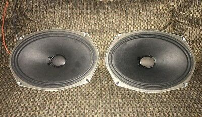 "2 Vintage 6X9"" Fisher Loud Speakers 🔊 985-009960-2 FREE SHIPPING 📮📦 l👀k"