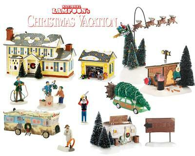 NEW Department 56 Snow Village Christmas Vacation 11 PC Mega Set