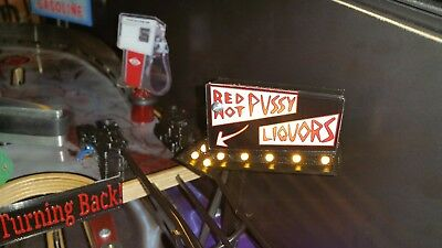 Rob Zombie Red Hot Arrow Sign Mod by Tim's Pinball Mods