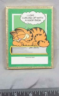 Vintage Garfield Book Labels ajd