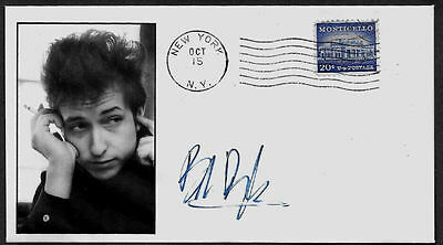 1960s Bob Dylan Featured on Limited Edition Collector's Envelope *A670