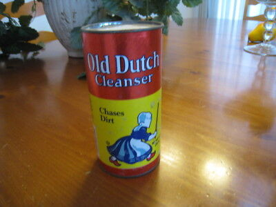 Old Dutch Cleanser Brand New Vintage Unopened Can 14 oz.