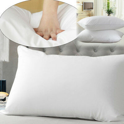 Luxury Memory Cotton Foam Core Orthopaedic Extra Support Firm Bed Home Pillow Au