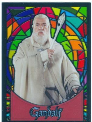 Lord of the Rings Evolution Series Stained Glass Trading Cards - YOUR CHOICE!