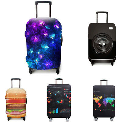 2017 Elastic Travel Luggage Suitcase Cover Dust-proof Protector Protective Bag