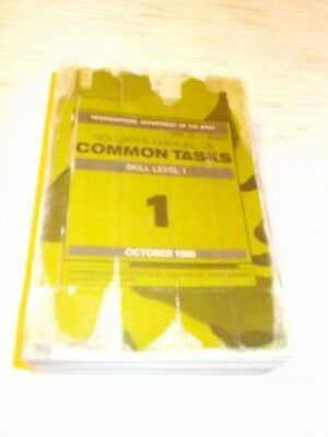 Soldier´s Manual of Common Tasks Skill Level 1 , Englischer Text , Handbuch