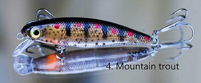 Lure Trout Fishing Hueys Mountain Trout ( Made in Tasmania )