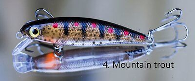 Lure Trout Fishing Hueys Mountain Trout