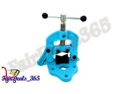 Hi Quality Bench Pipe Vise Clamp Type Plumber's Vice Hand Tools Capacity 10X90Mm