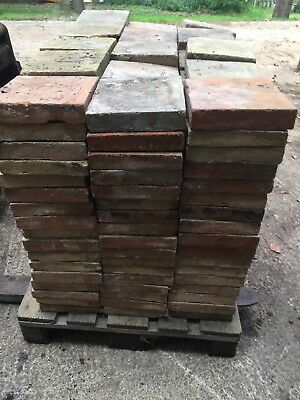 Reclaimed Norfolk Red Pamments 9x9 -250 available