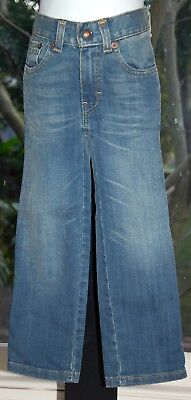 """LEVI'S """"Straight Fit"""" Jeans - Faded Denim - Size 3 (Kids) - EUC As New"""