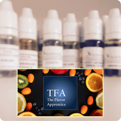3Oml TFA FLAVOR APPRENTICE e-liquid TPA The FLAVOUR TFA Concentrate Flavourings