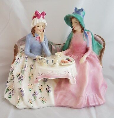 Lovely Vintage Royal Doulton Figurine -  Afternoon Tea HN 1747