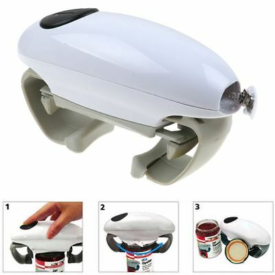 Electric Jar Opener Automatic One Touch Can Tin Opener Kitchen Easy Gadget-AU