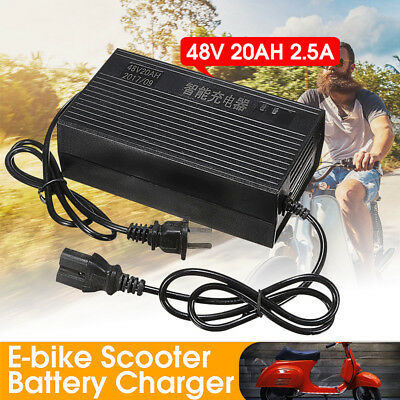 48V 2.5A 20AH Lithium Lifepo4 Battery Charger For E-bike Scooter Electric Bike