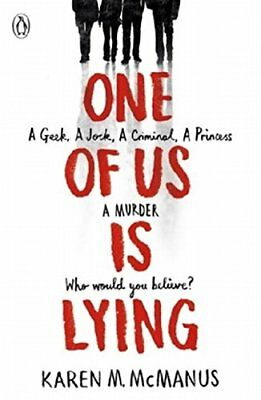 One of Us is Lying by Karen McManus (Paperback, 2017)