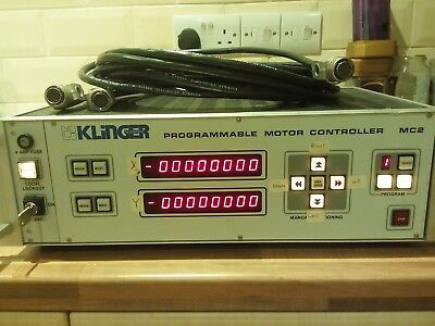 KLINGER Programmable Motor Controller MC2, rack mounted or free standing