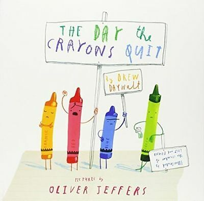 The Day The Crayons Quit by Drew Daywalt (Paperback, 2014)